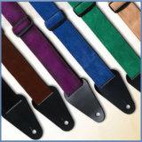Extremidades de couro baratas personalizadas da cinta da guitarra
