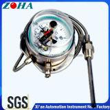 Termometro capillare di pressione con il contatto elettrico