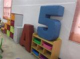 Textilverpackung populäres Childre Sofa für Verkauf (SF-89C)