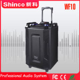 Shinco Professional Wireless Bluetooth караоке тележка для использования вне помещений 10','hifi-динамик