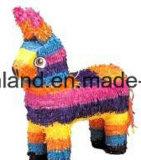 Pinatas grandes coloridos del papel hecho a mano del caballo de Muilt del partido