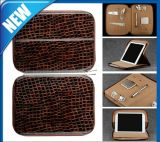 Padfolio Leather Laptop Travel Bag für iPad mit Pocket