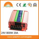 (HM-24-800-N) 20Aコントローラが付いている24V800W太陽ハイブリッドインバーター