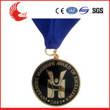 Medaglia del medaglione del metallo di promozione, fabbrica su ordinazione della medaglia del metallo 3D