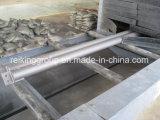 Catenaria a través del moho de la placa de acero que quita la máquina del chorreo con granalla