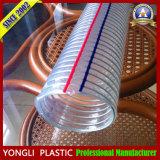 De Transparante Slang van de Draad van het Staal van pvc Hose/PVC/de Draad Versterkte Slang van pvc