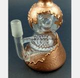 De Rokende Pijp van het glas van een Gouden en Zilveren Pijp van Calabasph Shae