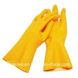 Проложенная питания латекс безопасность рабочей перчатки для защиты домашних хозяйств