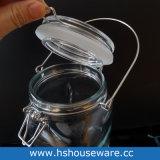 vaso di vetro dell'erogatore dell'acqua 2L con il basamento argenteo