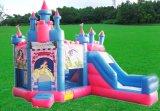 Cheap Infatable Bouncer con diapositivas/Combo de inflables inflables comerciales/Bouncer Bouncer congelados para la venta