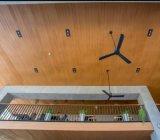Le WPC revêtement de mur extérieur de décoration en bois panneau composite en plastique