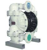 Rd 3のインチPVDFの食品等級のための圧縮空気の二重膜ポンプ