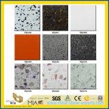 Классический белый/синий/зеленый/розовый/черный/желтый созданы искусственные кварцевого камня по благоустройству/декоративной/сад/оболочка/стены