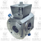 Riscaldamento Jacket Ball Valve con Wafer Flange Estremità 16bar/150lb
