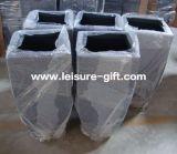 Fo-288 Pote de plantão de fibra de vidro quadrado de fibra de vidro
