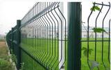 PVC에 의하여 입히는 직류 전기를 통한 용접된 철망사 담 공도 방호벽