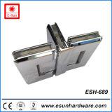 Горячие конструкции 3 стороны куя латунный стеклянный шарнир (ESH-689)