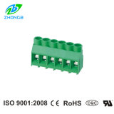 PCB Screw Terminal Blocks (zb-635V) met Pitch 6.35mm