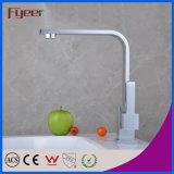 Faucet крана раковины одиночного смесителя воды кухни ручки латунный (QH0718-1)