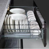 Preço barato com o gabinete de cozinha da laca da alta qualidade