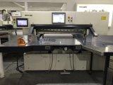 Cortador de papel de la pantalla táctil de 15 pulgadas/guillotina automatizada/cortadora de papel (137F)