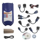 Bluetooth версии V8 125032 Vxtrucks USB Link беспроводной интерфейс диагностики с помощью всех адаптеров (синий)