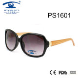 蝶様式卸売(PS1601)のための大きいフレームの女性のサングラス