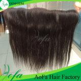 """13 """" × """" Frontal diritto del merletto dei capelli di Remy dei capelli brasiliani del Virgin 4"""