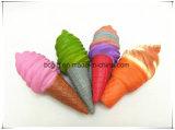 Su ordinazione gelato i giocattoli Squishy aumentanti lenti della gomma piuma dell'unità di elaborazione