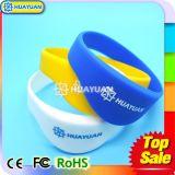 Bracelete esperto do Wristband do CÓDIGO SLI RFID do silicone I para a aptidão