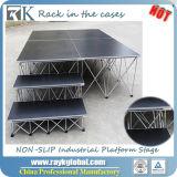 Rkの卸し売り携帯用段階のイベントのための調節可能な段階装置