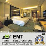 Tête de lit 2017 et meubles en verre modernes de chambre à coucher d'hôtel de modèle moderne (EMT-A1203)