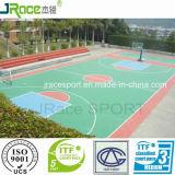 Материал настила баскетбольной площадки PU Одиночн-Компонента
