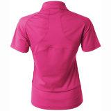 Camicia di polo respirabile Quick-Dry di golf del manicotto di Short di svago delle donne