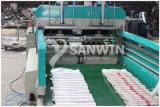 기계를 만드는 t-셔츠 비닐 봉투