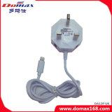 Мобильный телефон кабеля проводной UK зарядное устройство для iPhone с двумя порт USB