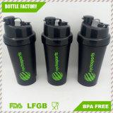 700ml venda quente vaso agitador de plástico com tampa de dois