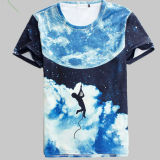 T-shirts d'impression de sublimation, T-shirts pour l'impression de sublimation, T-shirts ordinaires pour l'impression