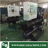 Tipo industrial refrigerador Water-Cooled do parafuso de 80 toneladas com compressor da alta qualidade