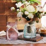 Стекло Surface-Relief букет ваза с лентой