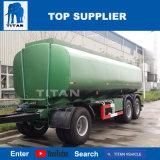 A Titan 40 Cbm petroleiros de Combustível em liga de alumínio com 3 eixos do reboque atrelado de combustível para venda