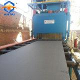 Q69 la estructura de acero de granallado de la máquina para limpiar la placa