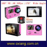 360 камера спорта Vr 4k 30 Fps 16m WiFi степени
