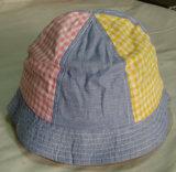 Niños normales del dril de algodón del bordado del diseño que pescan el casquillo