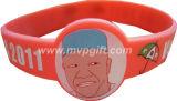 Один Wristband тканья времени сплетенный пользой для случаев (m-wb28)