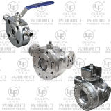 Wafer Flange End 16bar/150lb를 가진 난방 Jacket Ball Valve