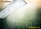 Indicatore luminoso di via Integrated tutto compreso del comitato solare LED di controllo di APP del telefono