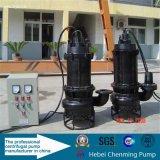 Bomba de água suja submersível centrífuga de 90kw
