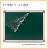 Whiteboard magnético e placa verde com frame de alumínio