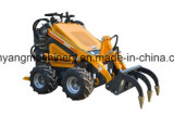 La Maquinaria agrícola Wy280 Mini cargadora compacta oruga de caucho